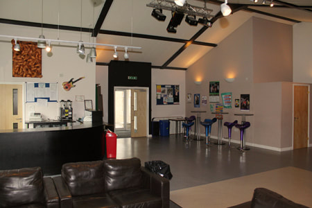 The Youth Area annexe is the perfect modern space for smaller meetings and events